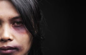 Woman Suffering from Domestic Violence Augusta GA