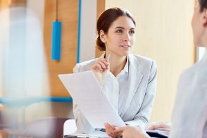 Divorce mediator in Georgia working with a man